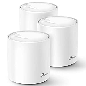 TP-Link WiFi 6 Mesh WiFi AX1800 Whole Home Mesh WiFi System - Covers up to 5800 Sq. Ft., Nex-Gen Wi-Fi 6, Replaces… 31sBrqbzNHL. SS300
