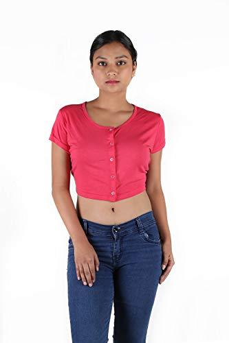 Leean pattern's Women Half Sleeve Jacket
