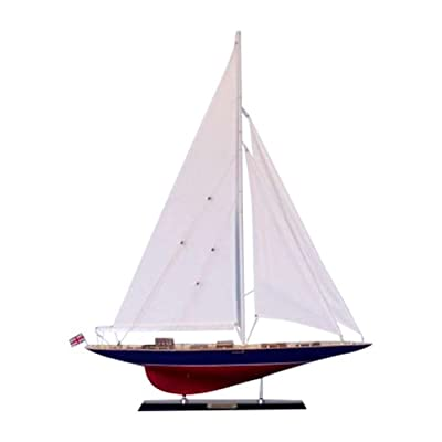 "Hampton Nautical Endeavour Sailboat, Limited Edition, 35"": Toys & Games"