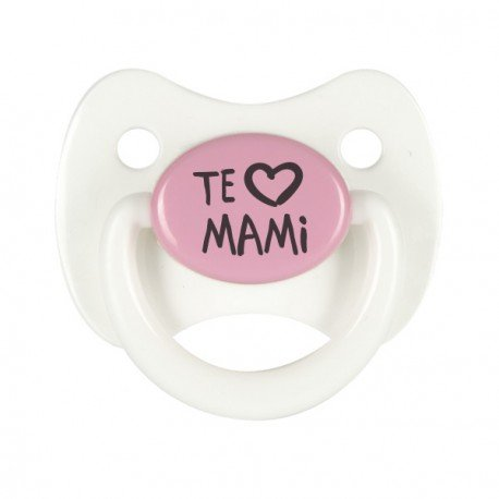 Pack 3 chupetes personalizados Modelo Papi mas Mami con el nombre de ...