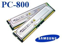 Samsung PC800-45 ECC 1GB (2 X 512MB) RAMBUS RDRAM RIMM