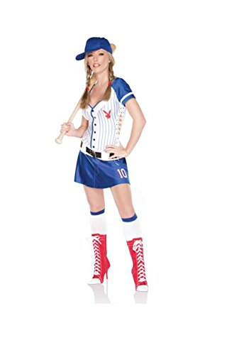 Playb (Plus Size Womens Baseball Costume)