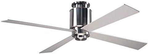 Modern Fan Company - Ventilador de techo con soporte de níquel y ...