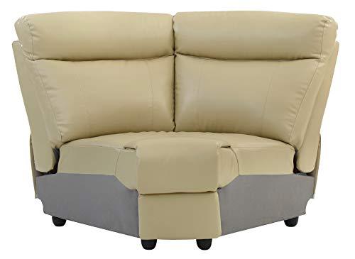 (Glory Furniture Ward G764B-W Wedge, Putty. Living Room Furniture 40