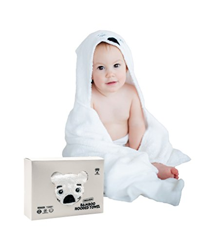 Baby Hooded Bath Towels | Organic Bamboo Material | Perfect
