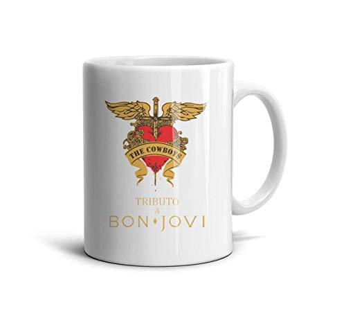 Bon-Jovi-These-Days- Classic Coffee Mugs 11oz Ceramic Tea Cups,Tributo a Bon,One Size