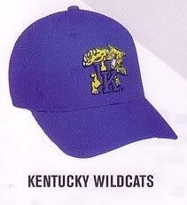 Kentucky Wildcats Official Licensed College Velcro Adjustable Cap (Hat Size: Adult) from Cap