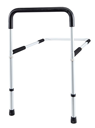 Bed Safety Rail - Support Assist Grab Bar for Safety and Stability - Designed for Disabled, Elderly, Adults and Children - Lightweight, Foldable, and Adjustable Design Features Tool-Free Assembly
