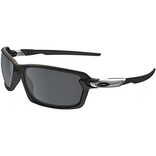 Oakley Carbon Shift Polarized Sunglasses, Matte Black/Black Iridium, One ()