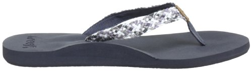 Reef REEF MALLORY GREY/METALLIC R1380GME - Chanclas para mujer Multicolor (Mehrfarbig (Grey/Brown (GREY/METALLIC)))