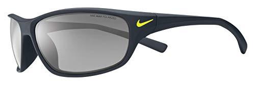 Nike Eyewear Men's Rabid EV0603-007 Rectangular Sunglasses, Matte Black, 63 ()