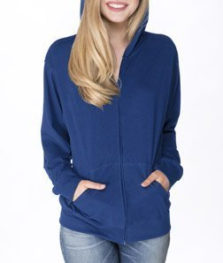 Next Level Unisex Sueded Full-Zip Hoody 6491 -Royal M
