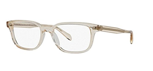 OLIVER PEOPLES SORIANO 5280U - 1094 EYEGLASSES BUFF W/ DEMO LENS ()