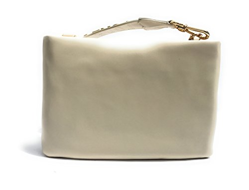 Women Bag Tote Moschino White ral 1013 Pearl Ivory xz8wv