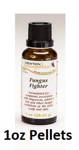 Newton Labs Homeopathics Remedy Fungus Fighter 1oz Pellets (2 Pack)