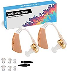 This easy to operate high quality hearing applifer features a switch on/off button. Variable volume adjustment for easy operation. Behind the Eat (BTE) design makes this amplifier easy to put on and stay on for all day wear.Enjoy easy communi...