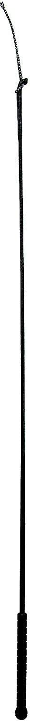 """Weaver Leather Livestock Pig Whip with Replaceable Popper Black, 39"""""""