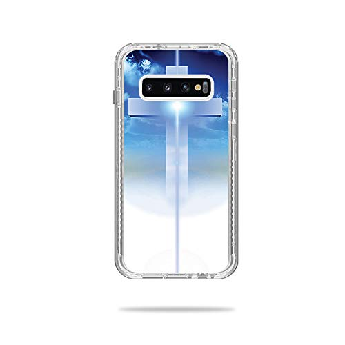 Price comparison product image MightySkins Skin Compatible with Lifeproof Next Case Samsung Galaxy S10+ - Cross / Protective,  Durable,  and Unique Vinyl Decal wrap Cover / Easy to Apply,  Remove,  and Change Styles / Made in The USA