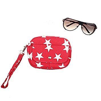 Mini Cross Shoulder Messenger Bag Purse Handbag Red Black Body Bags Culater Small Women AXnwBH