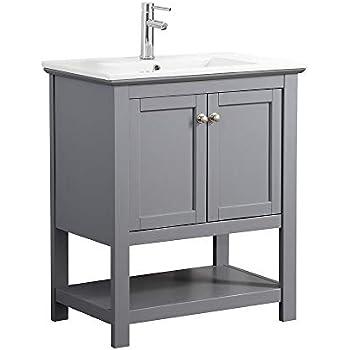 Amazon.com: Monroe Baño vanidad Set con parte superior en ...