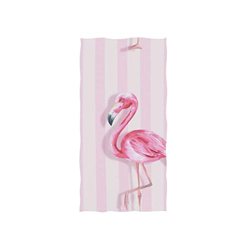 Bath Towels Flamingo - senya Pink Flamingo Hand Towel Ultra Soft Luxury Towels for Bathroom 30