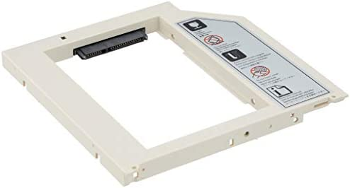 "SilverStone SST-TS08 - Adaptador para SSD o HDD de 2,5"" 9,5mm ..."
