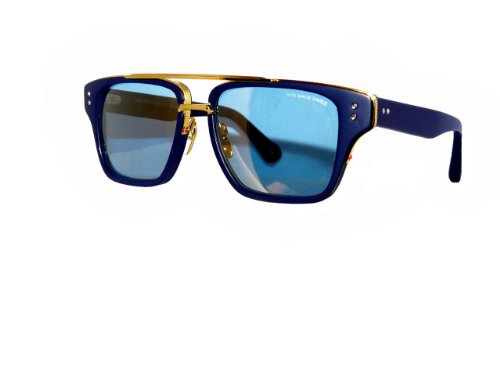 eef31007ada Dita Sunglasses MACH THREE DRX-2059C Blue 18kt Frame Blue Lens - Buy Online  in UAE.