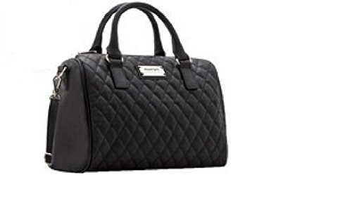 Sac à main noir matelassé MANGO, sac tendance matelassé, sac noir MODE 2014, petit sac noir - Nero, Sac à Main