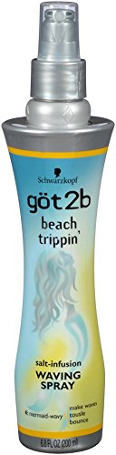Beach Salt (Got2b Beach Trippin Salt Infusion Waving Spray, 6.8 Fluid Ounce)