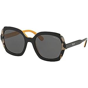 Prada Etiquette PR 16US Black Grey Havana/Grey 54/21/140 Women Sunglasses