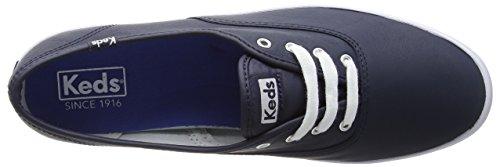 Core Keds Donna Blu Leather Scarpe Running Champion Navy gr5W5qU7
