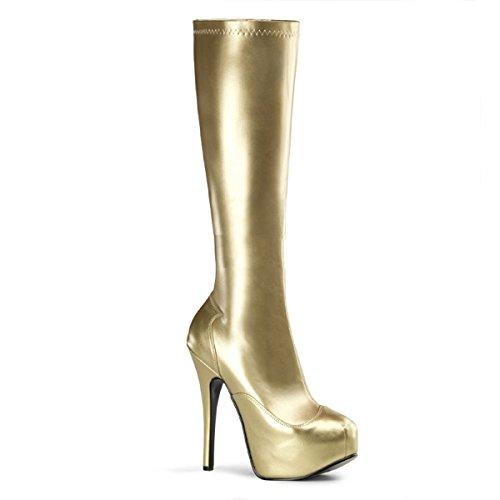 Bordello Teeze-2000 - sexy burlesque plateaus chaussures femmes talon hauts bottes - taille 36-43