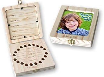 Vidal Regalos Caja Madera Infantil Mis Primeros Dientes: Amazon.es: Hogar