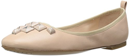 Jacobs Women's Studded Flat Marc Cleo Ballerina Ballet Nude Rzw8SqH