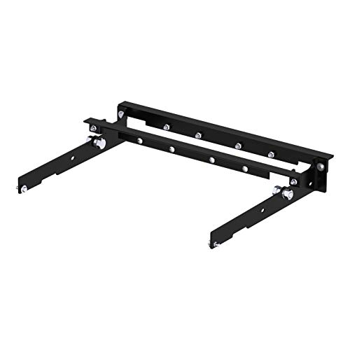 - CURT 60636 Under-Bed Gooseneck Hitch Installation Brackets for Select Ford F-150, F-250, F-350