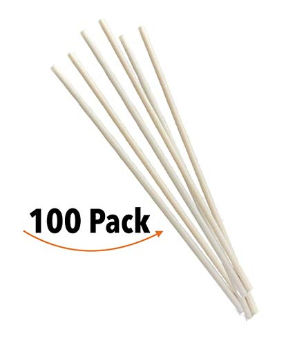 Avocado seed straw, eco friendly, 100% compostable, biodegradable, package with 100 -