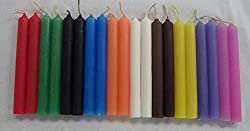 """Mini 4"""" Chime Spell Candle Magick Set #2: 20 Candles - 10 Assorted Colors!"""