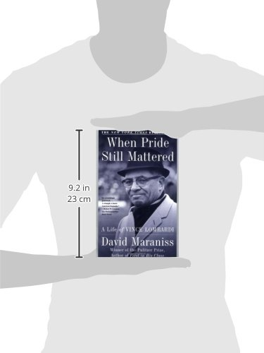 an analysis of when pride still mattered by vince lombardi When porn still mattered: the life of luke ford  2:48:46 play next play now when pride still mattered : a life of vince lombardi - duration: 2 hours, 48 minutes 482 views 3 days ago.