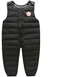 Baby Toddler Little Boys' Winter Puffer Snow Bib Overall Pants