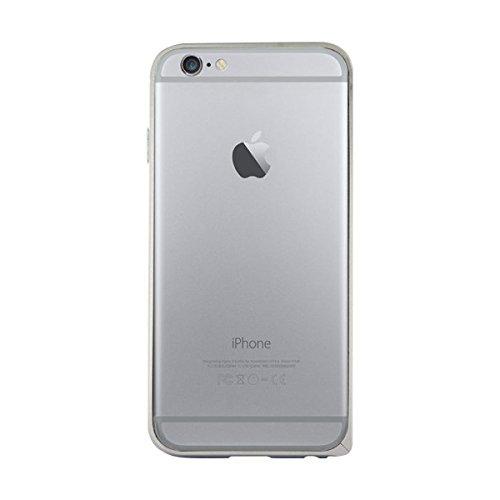 BigBen BC299745 Metal Schutz-Bumper in silber für Apple iPhone 6
