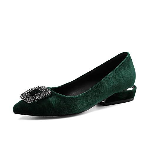 Oscuro Sandalias Con Mujer Adeesu Sdc05995 Cuña Verde 0YW5BwZqp