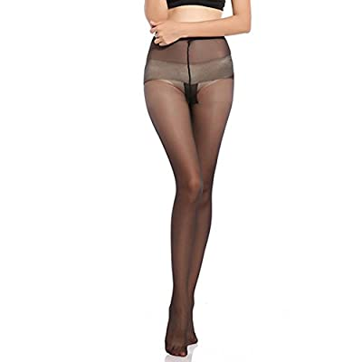 Blostirno Women's Sheer Tights Pantyhose-Ultra Thin Panty Stockings at Women's Clothing store