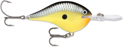 Rapala DT Metal SS 20 Fishing Lure, Old School, 2-3/4-Inch
