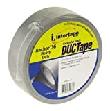INTERTAPE POLYMER GROUP 85273 Professional Grade Duct Tape 2'' x 60 yd, 12 Mil, Silver - 461057