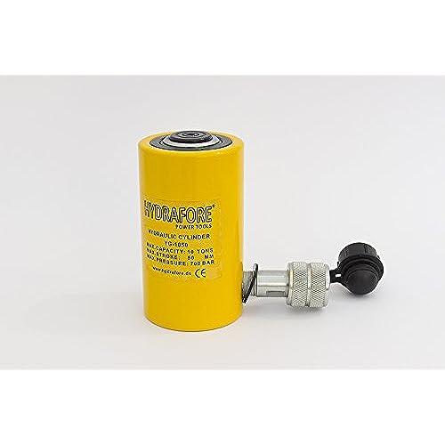 """10 tons 2"""" stroke Single Acting Hydraulic Cylinder Lifting Jack Ram YG-1050"""