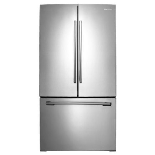 Samsung RF261BEAESR 25.5 Cu. Ft. Stainless Steel French Door Refrigerator - Energy Star (25-5 Cu Ft French Door Refrigerator Samsung)