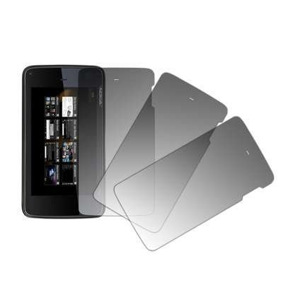 3 Pack of Premium Crystal Clear Screen Protectors for Nokia N900 [Accessory Export Packaging]