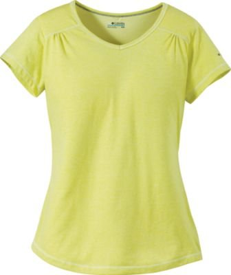 - Columbia Women`s Thistle Ridge Short Sleeve Tee (FRESH KIWI, M)