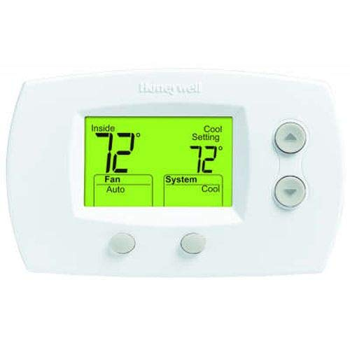 Focuspro Non Programmable Digital Thermostat - Honeywell TH5220D1003  Electronic Low Voltage Wall Thermostat