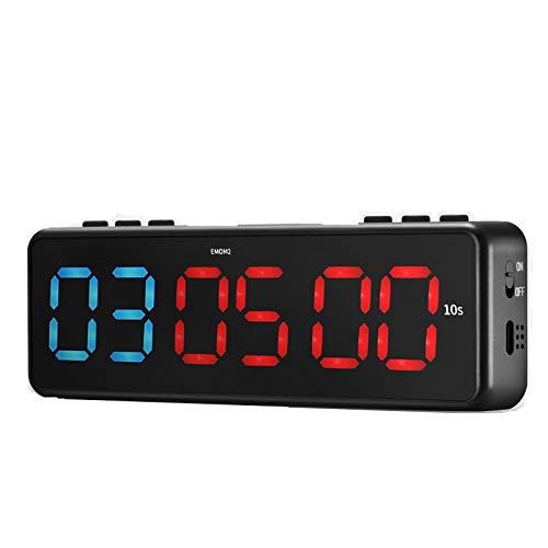 TTLIFE Gym Timer Magnetisch,LED Interval Timer Klok,Draagbare Fitness Timer Countdown Timer met Bluetooth APP Control…